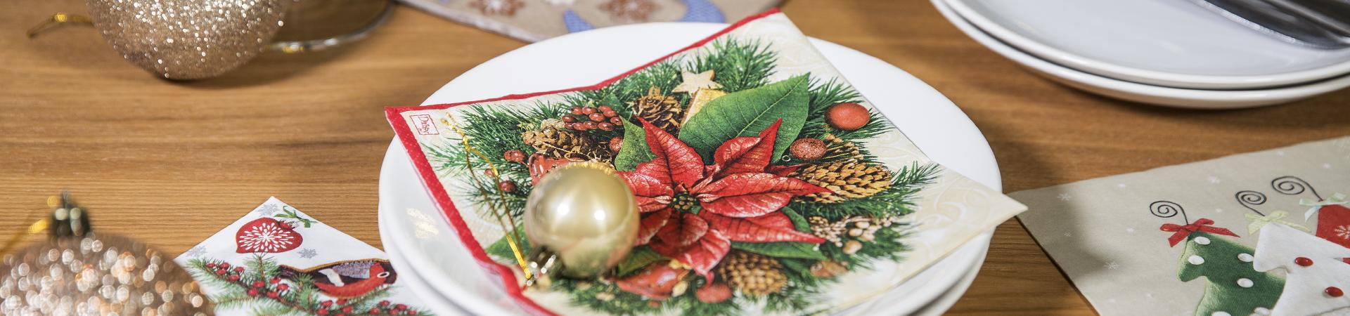 Ziemassvētku salvetes