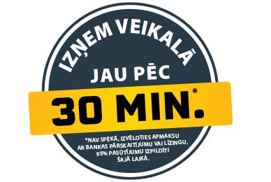 SAŅEMŠANA PĒC 30 MINŪTĒM