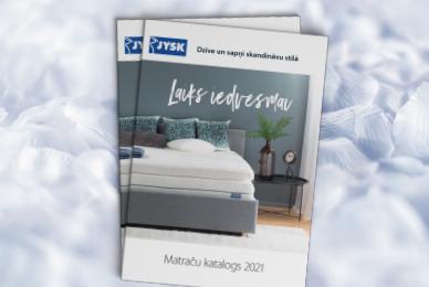 JYSK matraču katalogs