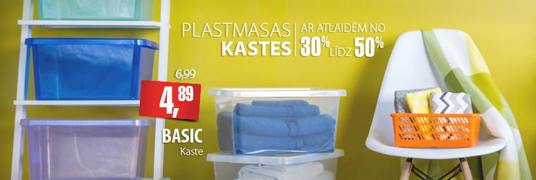 Plastmasas kastes